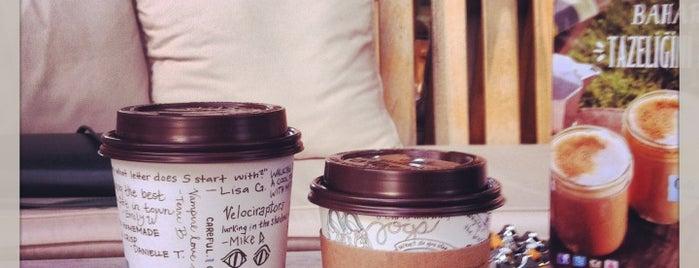 Caribou Coffee is one of Lugares favoritos de Muazzez.