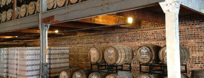 Firestone & Robertson Distilling Co. is one of FW Magazine 2018 Best of Food & Drink.