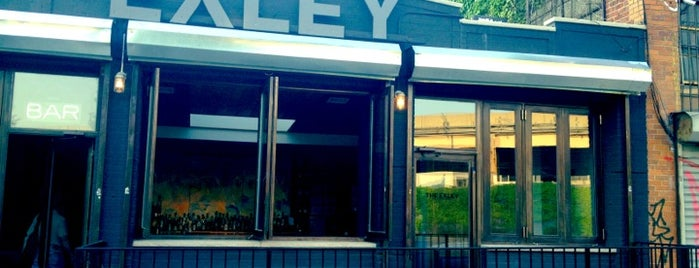 The Exley is one of Williamsburg/Greenpoint.