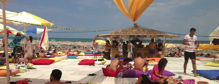 Suma Beach is one of istanbul cool places.