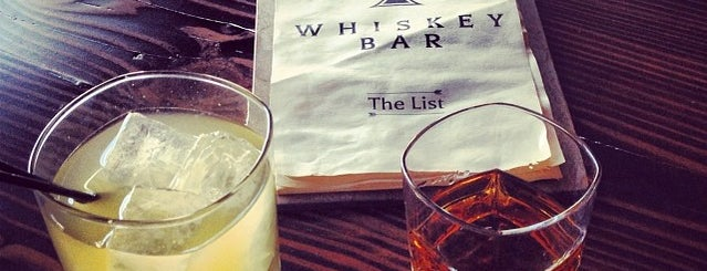 Whiskey Bar is one of Drink Boise.