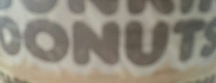 Dunkin' is one of E : понравившиеся места.