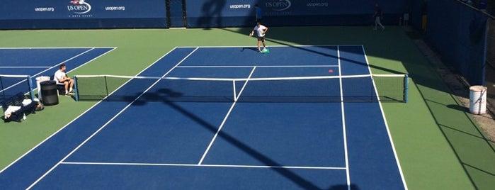 Practice Courts (1-5) - USTA Billie Jean King National Tennis Center is one of สถานที่ที่ IrmaZandl ถูกใจ.