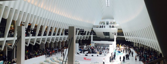 Westfield World Trade Center is one of Lugares favoritos de IrmaZandl.