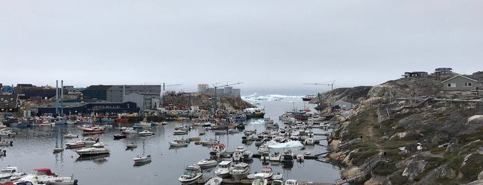 Ilulissat Harbour is one of Lugares favoritos de IrmaZandl.