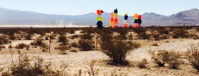 Seven Magic Mountains is one of Locais curtidos por IrmaZandl.