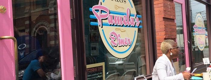 Pamela's P&G Diner is one of Locais curtidos por IrmaZandl.