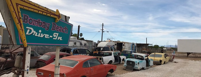 Bombay Beach Drive-In is one of Lugares favoritos de IrmaZandl.