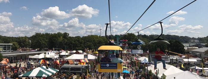 Iowa State Fairgrounds is one of Tempat yang Disukai IrmaZandl.