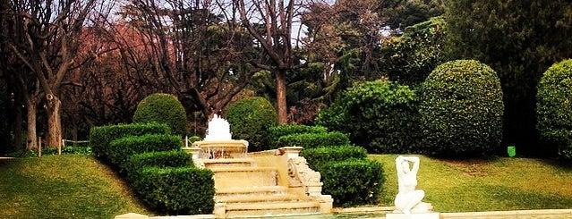 Jardines del Palacio de Pedralbes is one of Barcelona's Top 5 Picnic Spots.