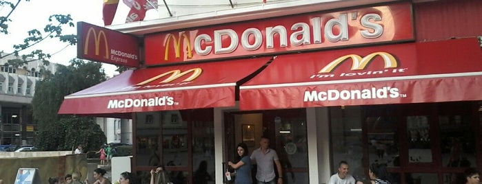 McDonald's is one of Locais curtidos por Thomas.