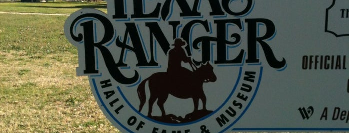 Texas Ranger Hall of Fame and Museum is one of Texas Favorites.