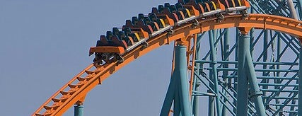 Titan is one of Stevenson's Favorite Roller Coasters.