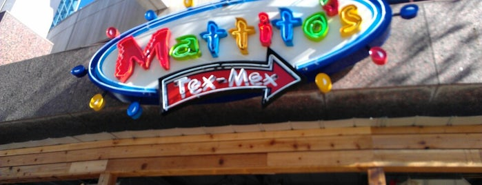 Mattito's is one of Favorite restaurants.
