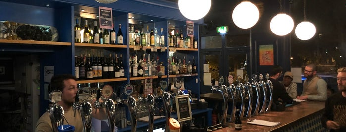 The italian Job Notting Hill is one of Craft Beer Europe.