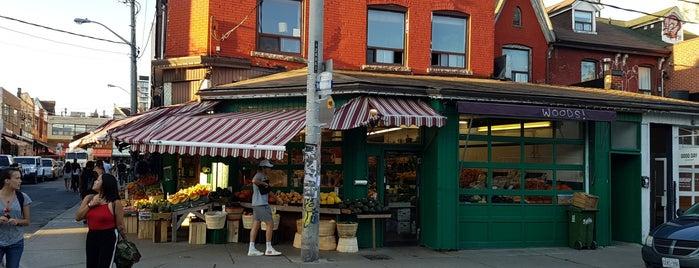 Kensington Food Market is one of Toronto with David.