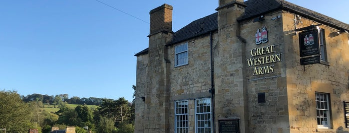 The Great Western Arms is one of The Cotswolds.