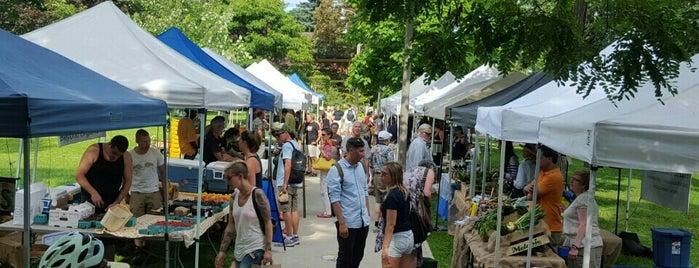 Riverdale Farmer's Market is one of Locais salvos de Adrian.