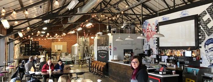 Descendants Beer & Beverage Co is one of Ontario Brewery Toury.