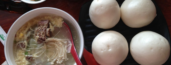 Myung In Dumplings is one of Tempat yang Disimpan David.