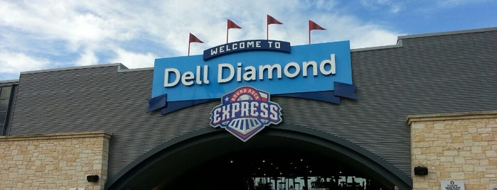 Dell Diamond is one of Locais curtidos por Greg.