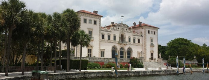 Vizcaya Museum and Gardens is one of Miami.