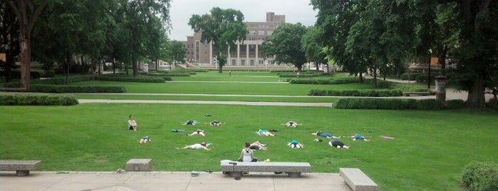 Northrop Mall is one of C2.