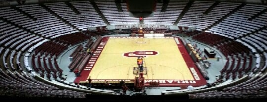 Lloyd Noble Center is one of Locais curtidos por Antonio.