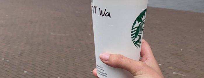 Starbucks is one of New Amsterdam.