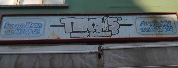 Tekşiş Kebap Salonu is one of Gidilen Mekanlar 3.
