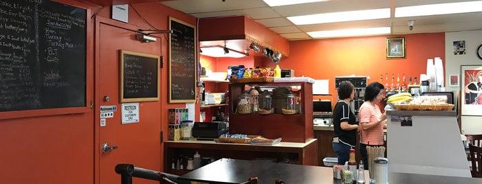 Thad's Cozy Cafe is one of Lieux qui ont plu à Alberto J S.