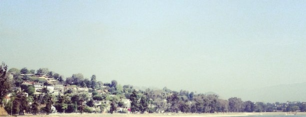 Silver Lake Reservoir is one of LA.