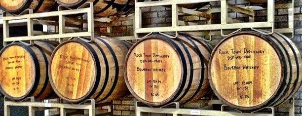 Rock Town Distillery is one of Sarah 님이 저장한 장소.