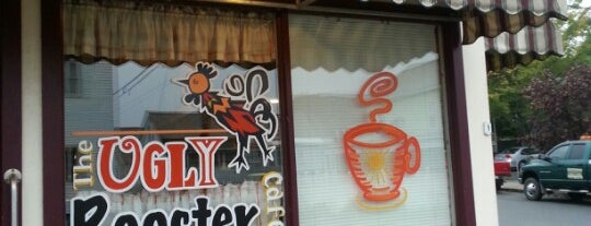 Ugly Rooster Cafe is one of สถานที่ที่ Nicholas ถูกใจ.
