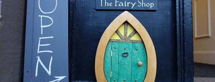 The Fairy Shop is one of Boston.