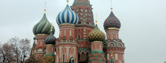 St. Basil's Cathedral is one of World Heritage Sites!!!.