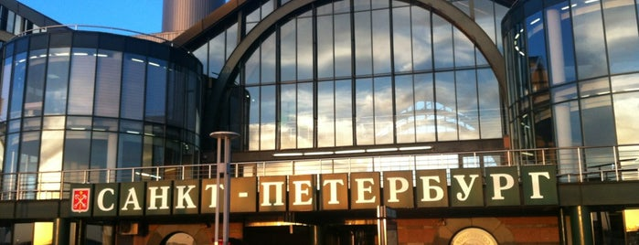 Ladozhsky Railway Station is one of Orte, die Marina gefallen.