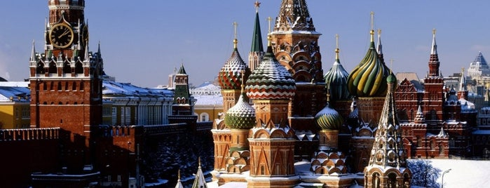 Moscou is one of Lieux sauvegardés par Ink.