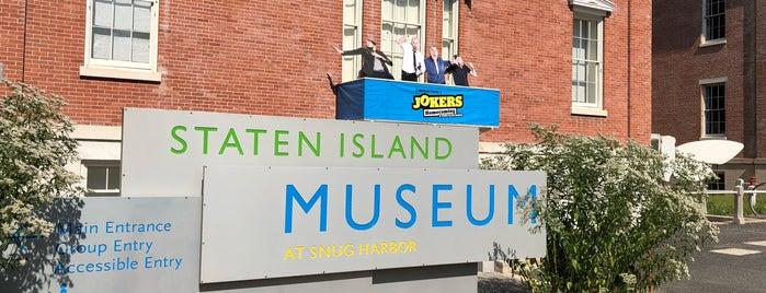 Staten Island Museum at Snug Harbor is one of Tempat yang Disukai Gena.