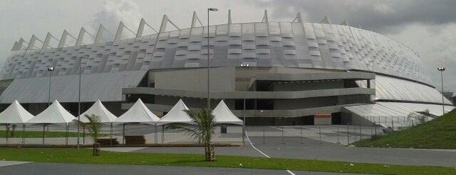 Arena de Pernambuco is one of Copa das Confederações da FIFA Brasil 2013.