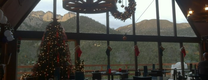 Mt Charleston Lodge is one of Viva Las Vegas.