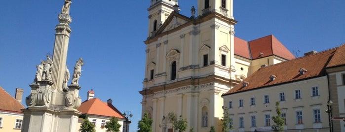 Náměstí Svobody is one of cyklovýlety.