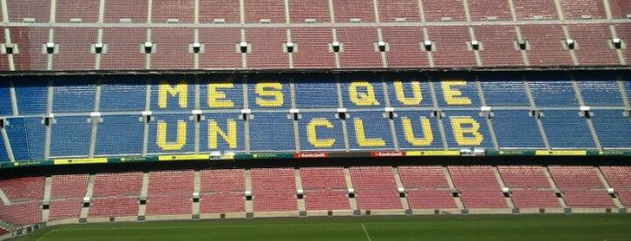 Camp Nou is one of Еврокубки.
