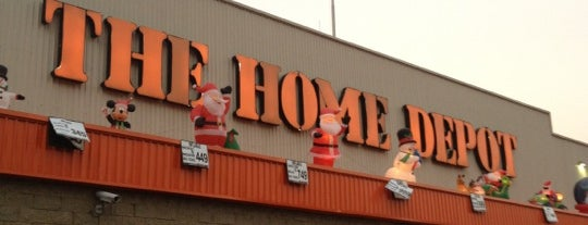 The Home Depot is one of Ciudad de México, D. F., México.