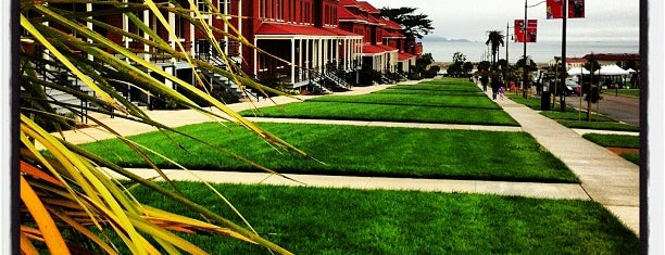 Presidio Main Post Lawn is one of to do in sf.