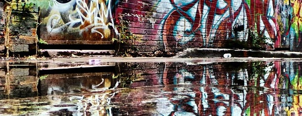 Graffiti Alley is one of Toronto.