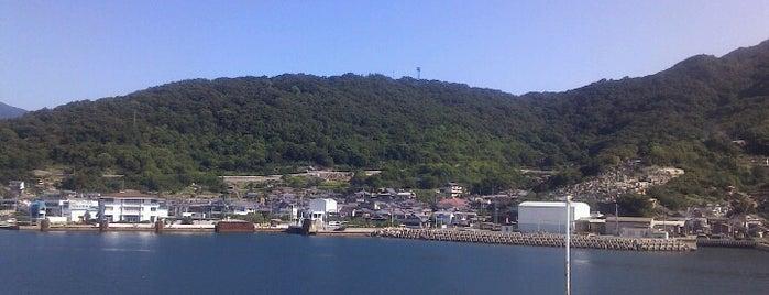 坂手港 (Sakate Port) is one of 小豆島の旅.