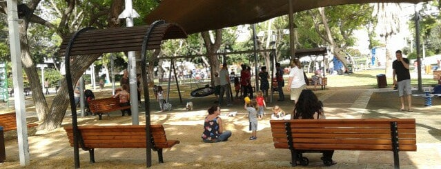 Dubnov Park is one of We Love Tel Aviv!  #4sqCities.