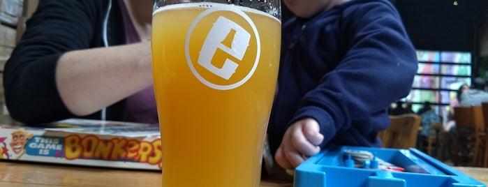 Evil Genius Beer Company is one of Orte, die Campbell gefallen.