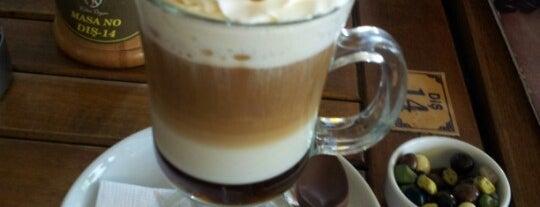 Kahve Deryası is one of Tempat yang Disimpan Metin.